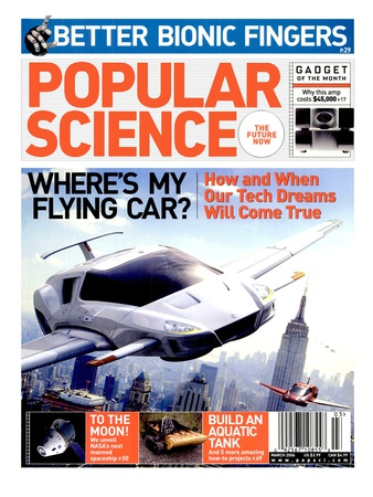 Front cover of Popular Science Magazine: March 1, 2006 Reproduction d'art