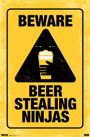 Beer Ninjas Poster