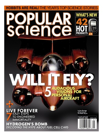 Front cover of Popular Science Magazine: January 1, 2005 Reproduction d'art