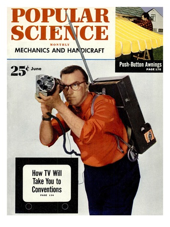 Front cover of Popular Science Magazine: June 1, 1950 Art
