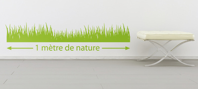 1 Meter of Lawn-Apple Wall Decal