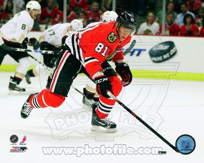 Marian Hossa 2011-12 Action Photographie