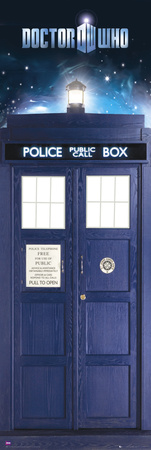 Doctor Who-Tardis Door Poster
