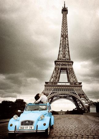 Paris-Romance Kæmpe plakat