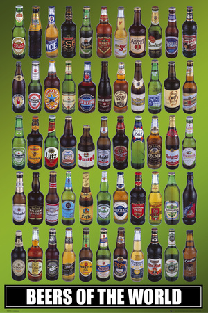 Beers of the World Pster