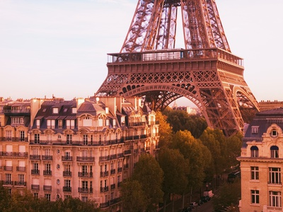 Eiffel Tower Photographic Print by Paul Hardy