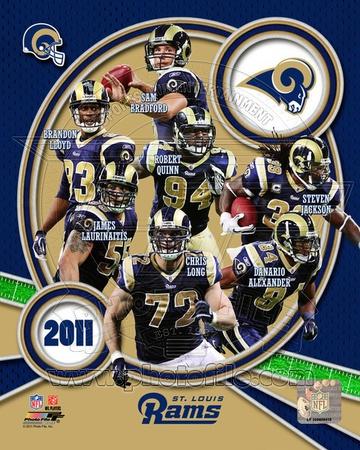 St. Louis Rams 2011 Team Composite Photo