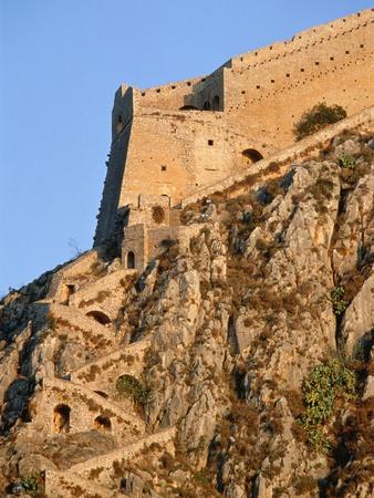 Castle on Peloponnes Photographic Print by Rainer Hackenberg