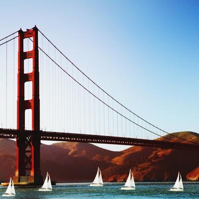 Golden Gate Bridge Photographic Print by  JoSon