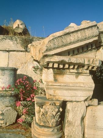 Ruins of Elefsina, Attica, Greece Photographic Print by Rainer Hackenberg