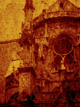 Notre Dame Photographic Print by Andre Burian