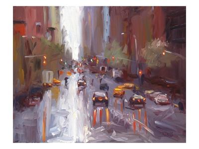 Slick (NYC) Premium Giclee Print by Pam Ingalls