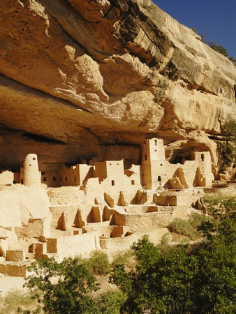 Cliff Palace in Mesa Verde National Park Photographic Print by Nik Wheeler