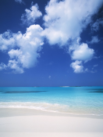 Exuma Island Beach Lmina fotogrfica