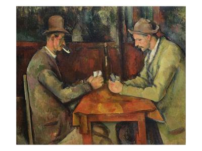 Card Players artwork by Paul Cezanne