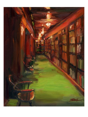 Knowledge Alley Giclee Print