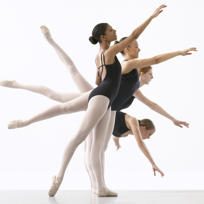 Four Ballerinas Photographic Print by Tim Pannell