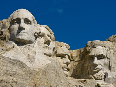Mount Rushmore Memorial Photographic Print by Gutzon Borglum