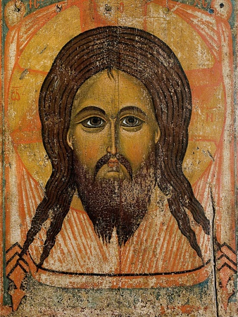 The Holy Face Photographic Print by Andrei Rublev
