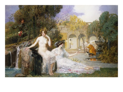 The Fountain of Youth Premium Giclee Print by Edouard Veith