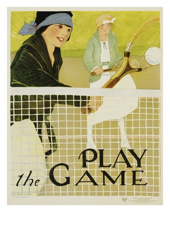 Play the Game Premium Giclee Print by Lucile Patterson Marsh