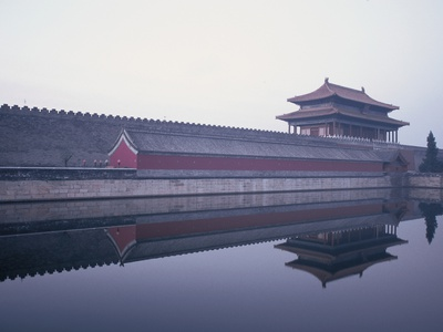 Moat Surrounding Forbidden City Photographic Print by Yang Liu