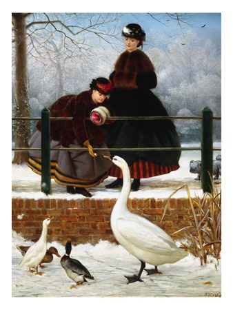 In the Park Premium Giclee Print by George Dunlop Leslie