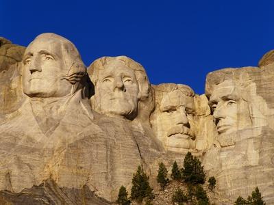 Mount Rushmore Memorial Photographic Print