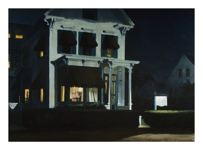 Rooms for Tourists Premium Giclee Print by Edward Hopper