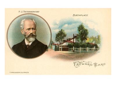 Tchaikovsky and Birthplace Prints