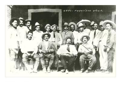 Pancho Villa and Gang, Mexico Plakater
