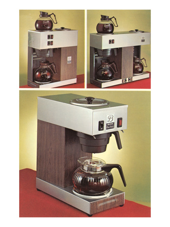 Automatic Coffee Makers Pósters
