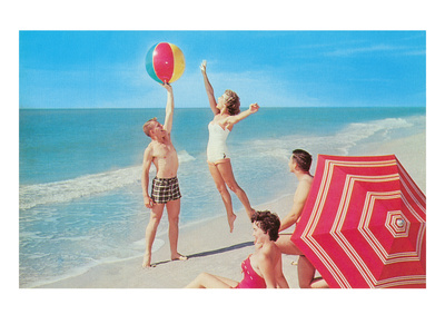 Fun on the Beach, Retro Posters
