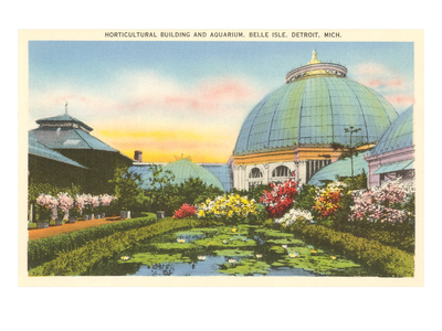 Greenhouse, Belle Isle, Detroit, Michigan Prints