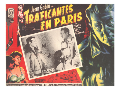 Poster for Mexican Film Noir Movie Print
