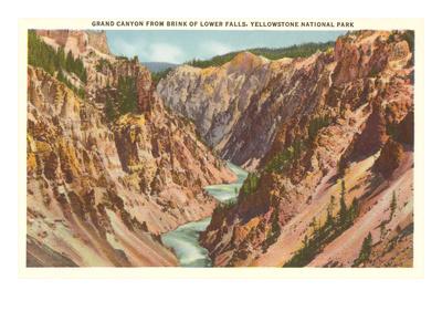 Grand Canyon, Yellowstone Park, Montana Posters