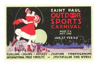 Advertisement, St. Paul Carnival, Minnesota Prints