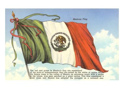 Flag of Mexico Prints