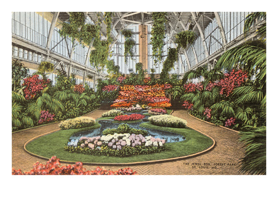 Jewel Box, Forest Park, St. Louis, Missouri Prints
