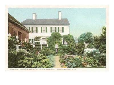 Garden, Aldrich Memorial, New Hampshire Posters