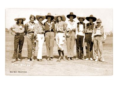 Montana Cowgirls Prints