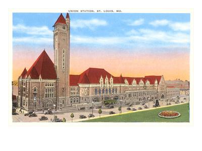 Union Station, St. Louis, Missouri Prints