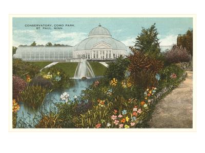 Greenhouse, St. Paul, Minnesota Poster