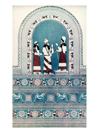 Assyrian King, C720 B.C Premium Giclee Print