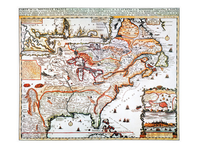 New France, 1719 Giclee Print