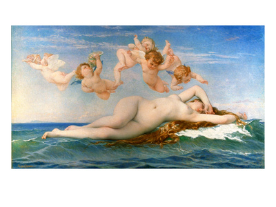 The Birth Of Venus Premium Giclee Print by Alexandre Cabanel