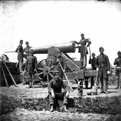 Civil War: Union Artillery Photographic Print