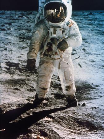 Apollo 11: Buzz Aldrin Photographic Print