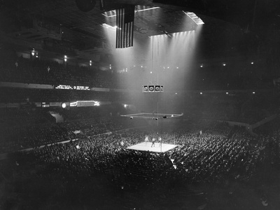 Boxing Match, 1941 Photographic Print