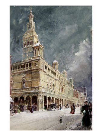 Madison Square Garden Premium Giclee Print by William Louis Sonntag